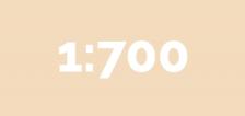 1:700