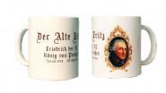 Tasse mit dem Porträt Friedrich des Großen
