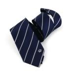 Krawatte ''Preußische Krone'' mit Silberstreifen