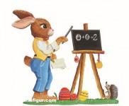 Anhänger: Osterhase als Lehrer