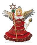 Engel mit Kerze und Stab