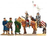 Friedrich II. bei der Gründung des Schlosses an der Spree