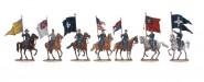 Fahnen der US & CS Armeen