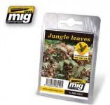 Dschungel-Blätter