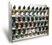 Farbständer - Wandmodul, 17ml Flaschen