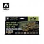 WWII British Colors UK/BEF/Europe 1939-1945