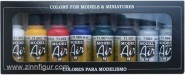 Airbrush-Grundfarben-Set