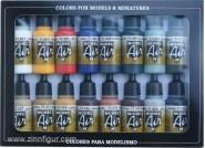 Airbrush-Grundfarben-Set: Model Air - Grundfarbenset (Basic Colors Set)