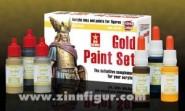 Gold Paint Set