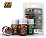 Transparente Farben Set 1