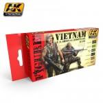 Vietnam U.S. Grün & Tarnfarbenset