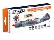 Farbset  (Orange Serie) Sowjetische Luftwaffe, spät - 2. Weltkrieg