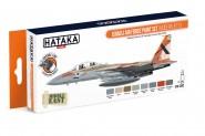 Farbset (Orange) Israelische Luftwaffe - Moderne Jets