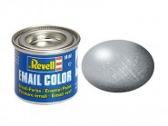 Silber, metallic - Email Color