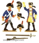 Infantry Officer and Musketeer
