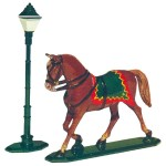Trotting Horse and Lantern