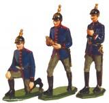 Schildkröt: 3 Kanoniere - Geschützbedienung, 1871 bis 1918