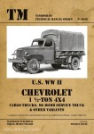 Chevrolet 1 ½-ton 4x4 Trucks. Cargo, M6 Bomb Service and others