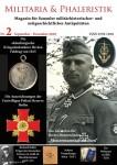 Militaria & Phaleristik. Magazin für Sammler militärhistorischer und zeitgeschichtlicher Antiquitäten. Nr. 2: September - Dezember 2018