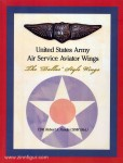 """Pandis, R. S.: United States Army Air Service Aviator Wings. The """"Dallas"""" Style Wings"""
