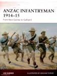 Sumner, I./Turner, G. (Illustr.): ANZAC Infantryman 1914-15. From New Guinea to Gallipoli