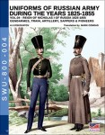 Viskovatov, A. V./Cristini, L. S: Uniforms of the Russian Army during the Years 1825-1855. Band 4: Reign of Nicholas I of Russia 1825-1855. Gendarmes, Train, Artillery, Sappers & Pioneers