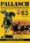 Pallasch. Zeitschrift für Militärgeschichte. Organ der Österreichischen Gesellschaft für Heereskunde. Heft 63