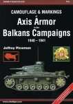 Plowman, Jeffrey: Camouflage & Markings of Axis Armor in the Balkan Campaigns 1940-1941