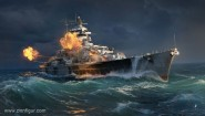 "Schlachtschiff Tirpitz ""World of Warships"""