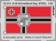 S-38 Schnellboot Fahne (Stahl)
