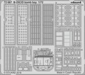 B-25C/D Bombenschachtdetails