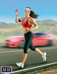 Tyra - Jogging Girl