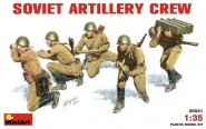 Sowjetische Artilleristen
