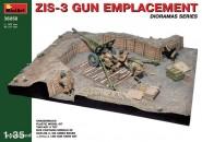 ZiS-3 Artilleriestellung