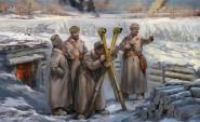 Sowjetisches Hauptquartier - Winter