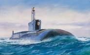 Atom-U-Boot der Borey Klasse