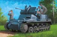 Flakpanzer IA mit Munitionsanhänger