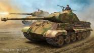 Pz.Kpfw.VI Sd.Kfz. 181 Tiger II Porsche - frühe & späte Version baubar