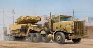 M911 C-HET mit m747 Heavy Equipment Semi-Trailer