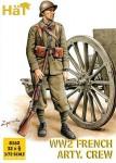 WW2 French Artillery Crew