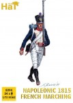 French Napoleonic Infantry Marching 1815