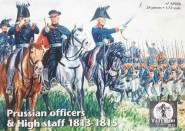 Prussian Officers & High Staff - 1813-15
