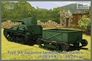 Type 94 Tankette mit Anhänger