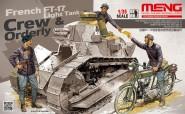 FT-17 Panzersoldaten und Melder