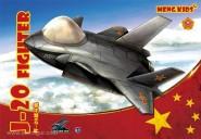 """J-20 Jagdflugzeug """"Meng Kids"""""""