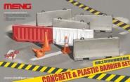 Kunststoff- & Beton-Straßensperren