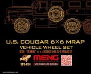 US Cougar 6x6 MRAP Belastete Reifen Set