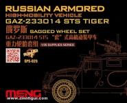 GAZ-233014 STS Tiger Belastete Reifen Set