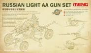Russische Leichte Flakgeschütze Set