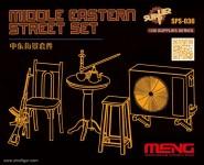 Straßenszenen-Details des Mittleren Ostens